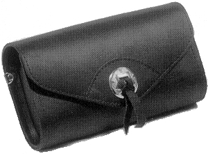 Windshield Pouch Concho 8 x 4 x 3 in.