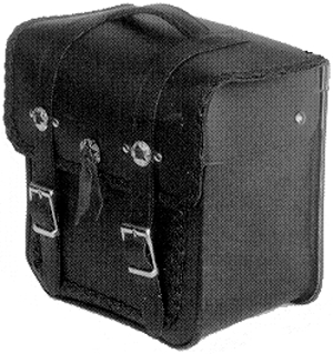 Rear Luggage Square Box Lid Braided 13 x 12 x 8 in.